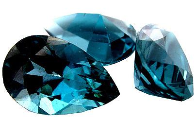 Topaze bleue London Blue calibrée 2.38ct (traitée)