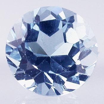 Topaze bleue Sky Blue (traitée)