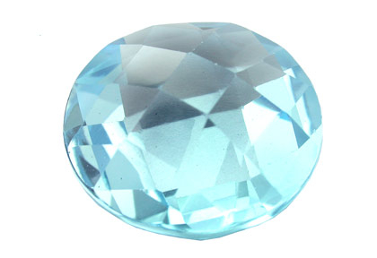 Topaze bleue Sky Blue (traitée) 14.11ct