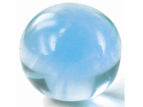 Topaze bleue Sky Blue calibrée 8.8ct (traitée)