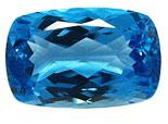 Topaze bleue Swiss Blue (traité) 28.35ct