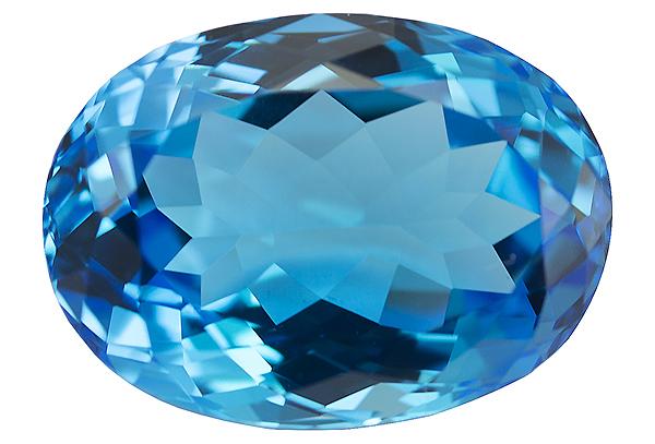 Topaze bleue Swiss Blue (traité) 13.74ct