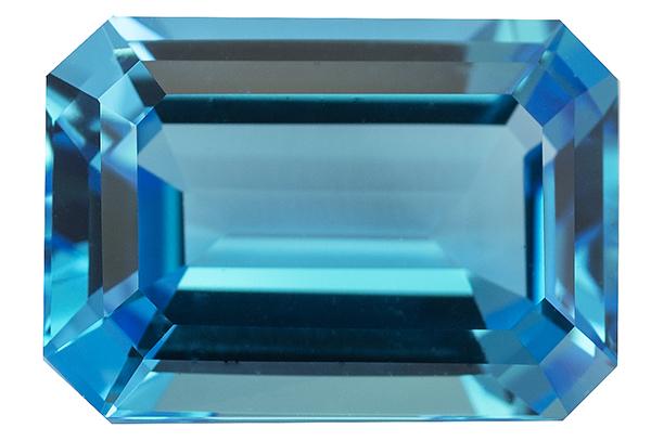 Topaze bleue Swiss Blue (traitée) 21.84ct