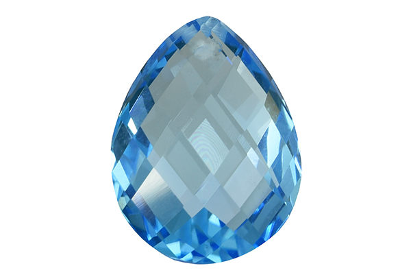 Topaze bleue Swiss Blue (traité) 10.5ct