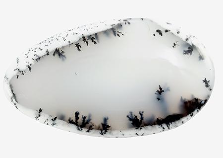 Agate dendritique 53.67ct