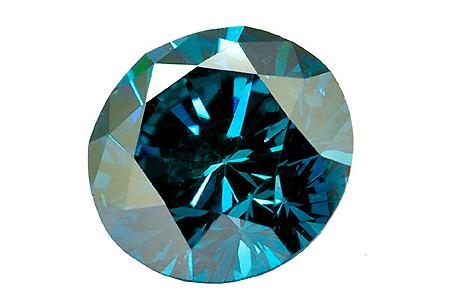 Diamant bleu (traité) 5.6mm