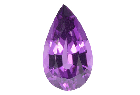 grenat violet rhodolite 1.12ct