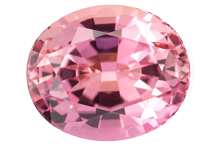 pink tourmaline Nigeria 12.24ct