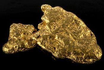 Pépite d'or 0.298g