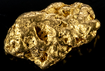 Pépite d'or 0.38g