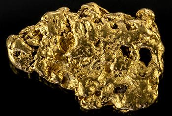Pépite d'or 0.424g