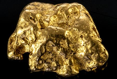 Pépite d'or 0.46g