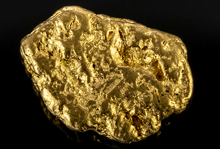Pépite d'or 0.484g