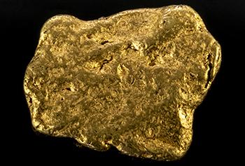 Pépite d'or 0.34g