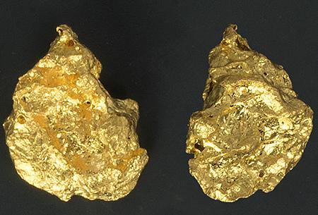 Pépite d'or 2,24g