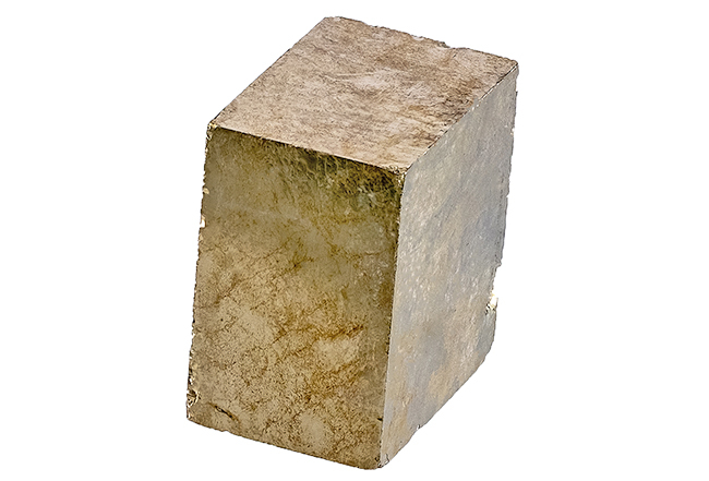 Cristal cubique de pyrite 23g