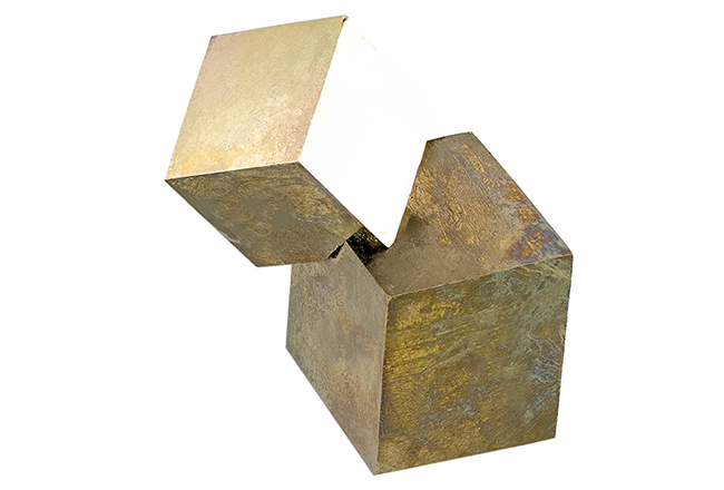 Macle de pyrite 31g
