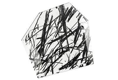 Quartz à inclusions de tourmaline 21.07ct