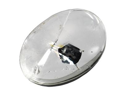 Quartz - hematite 13.36ct