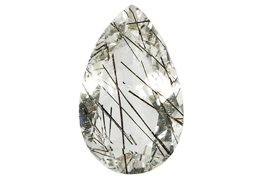 Quartz - tourmaline 12.83ct