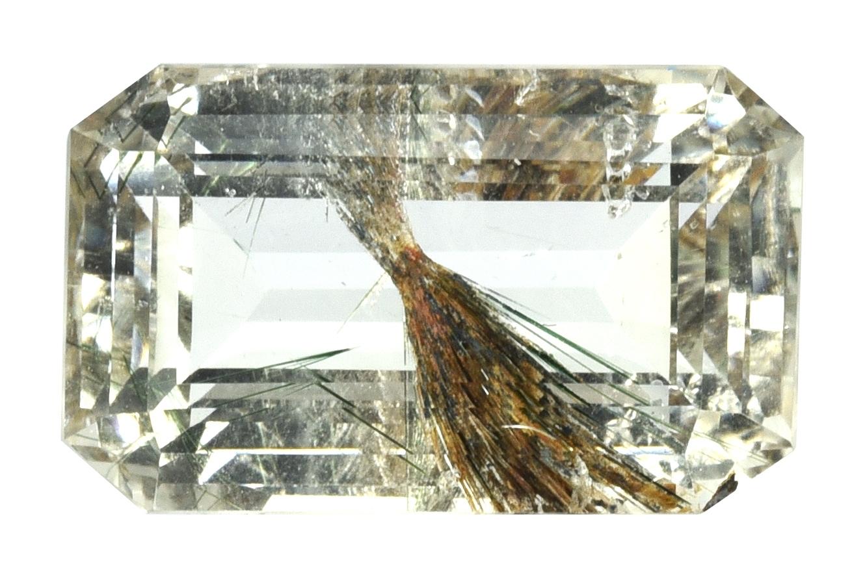 Quartz à inclusions d'actinolite 11.79ct