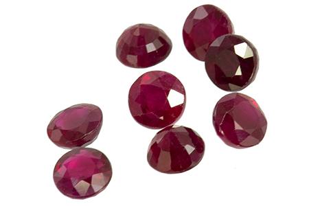 rubis, ruby, ルビー タイ rond round 3.1mm
