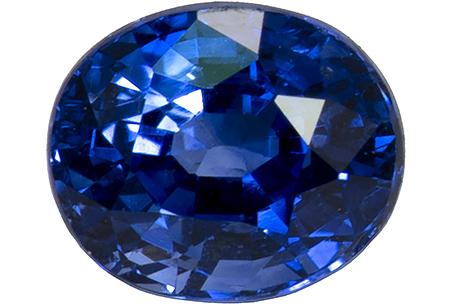 Saphir bleu 0.71ct