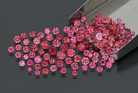 spinel-spinelle-rond-round-lot