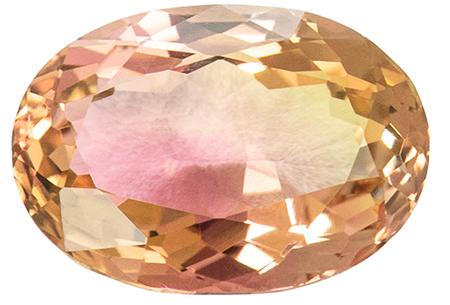 Tourmaline bicolore 2.46ct