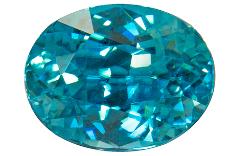 Zircon bleu 1.48ct
