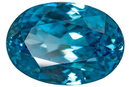 Zircon bleu 1.90ct