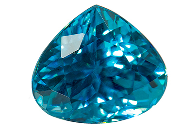 Zircon bleu 1.95ct