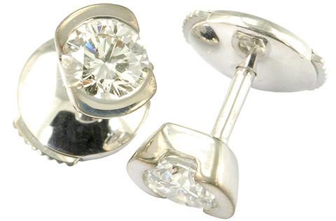 BO diamants serti demi  clos