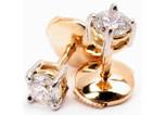 BO diamants serti griffes