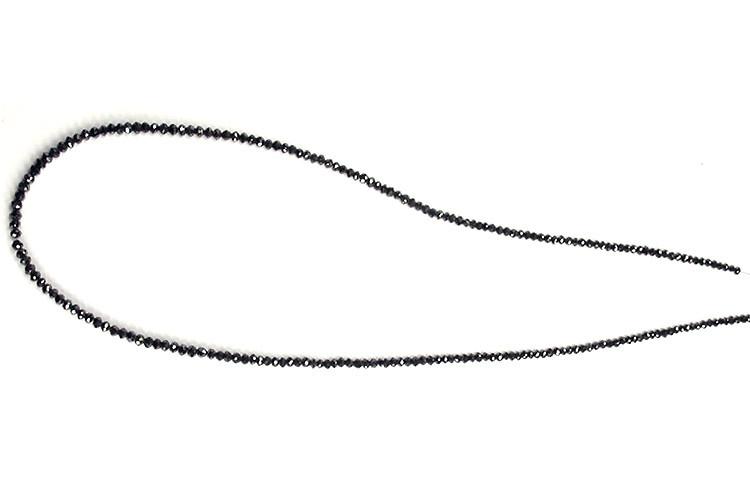 Collier de diamants noirs
