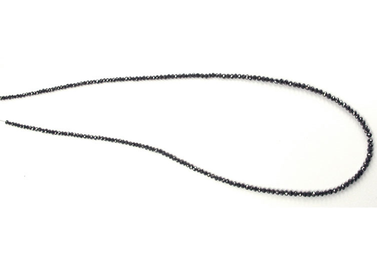 Collier de diamants noirs