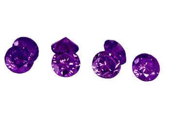 Diamant violet (traité)