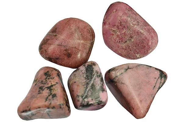 Rhodonite - pierre roulée
