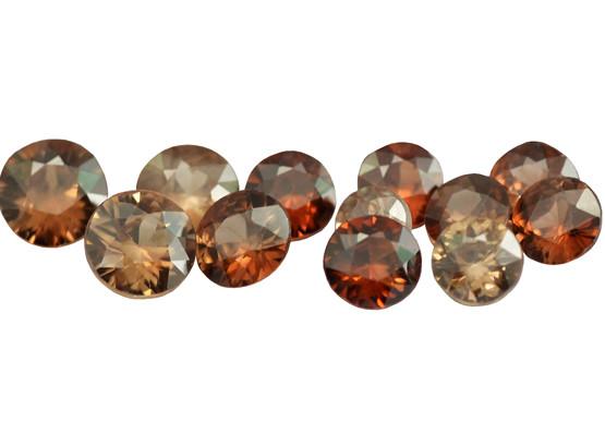 Zircon rouge à brun (Hyacinthe)
