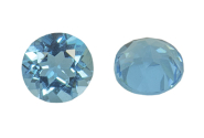 Topaze bleue Swiss Blue 2mm