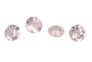 #quartz #rose #calibré #6.1mm