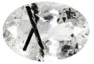 Quartz - tourmaline noire - 27.56ct
