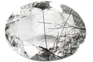 Quartz - tourmaline noire - 17.71ct