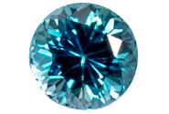 Zircon bleu 1.24ct
