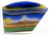 Agate paysage 56.50ct