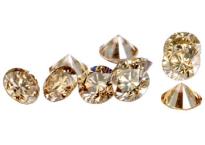 Diamant Champagne 4mm