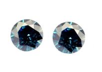 Diamant bleu (traité) 1.0mm