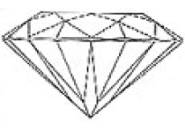Diamant blanc GH Si 1.3mm