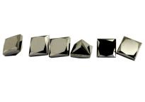 Diamant noir 3.4x3.4mm