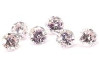 Diamant rose1.2mm